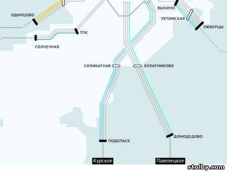поездов легкого метро,